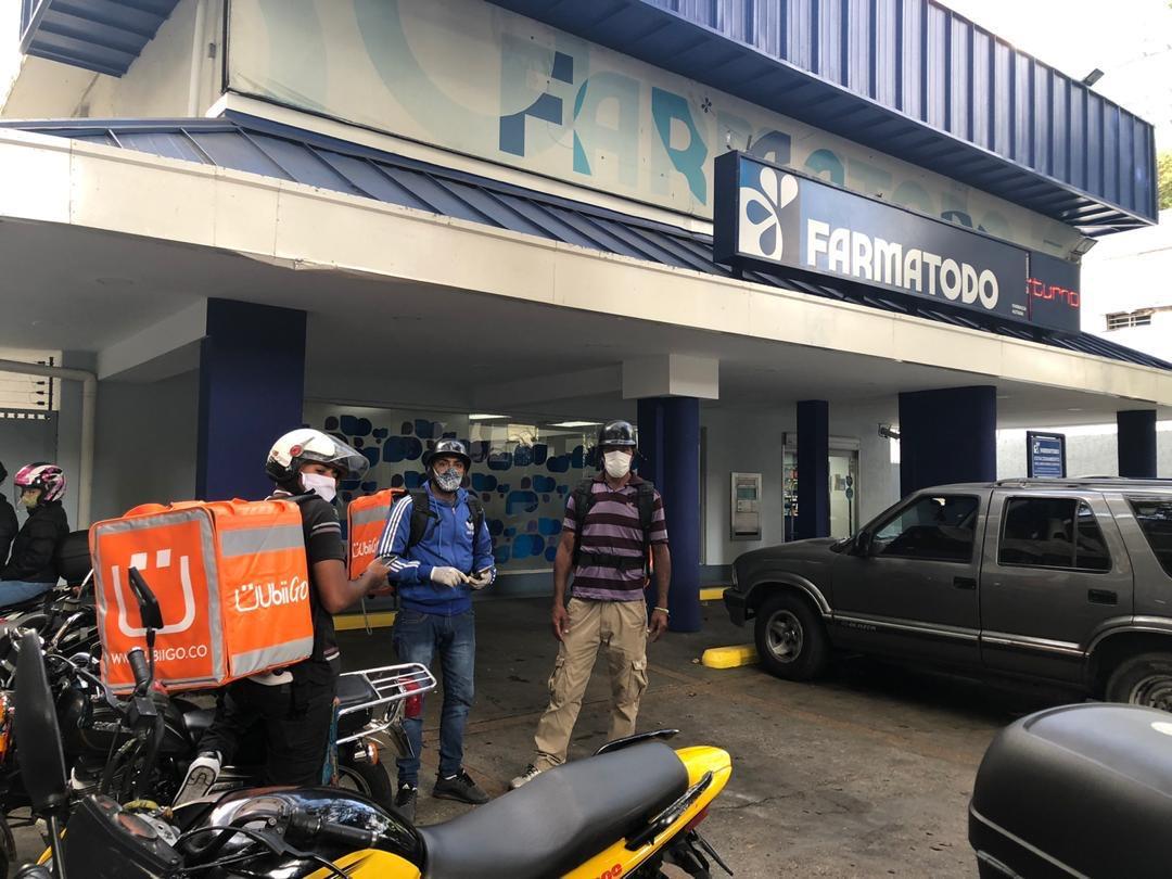 Ubii Go! y sus Ubiiteros pintan de naranja las calles de Caracas