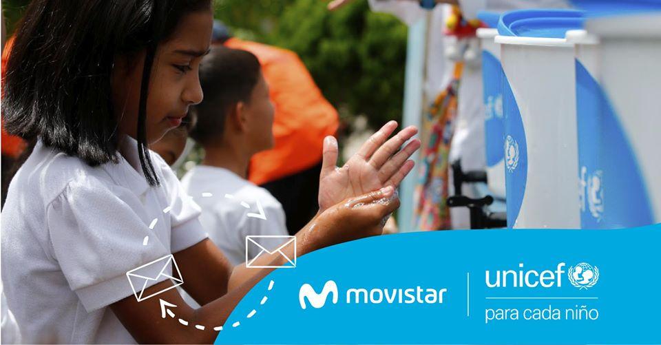 UNICEF y Movistar unen esfuerzos para la prevención del COVID-19 en Venezuela