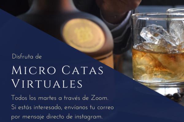 #QuédateEnCasa y únete a la experiencia de Microcatas  con Ron Carúpano