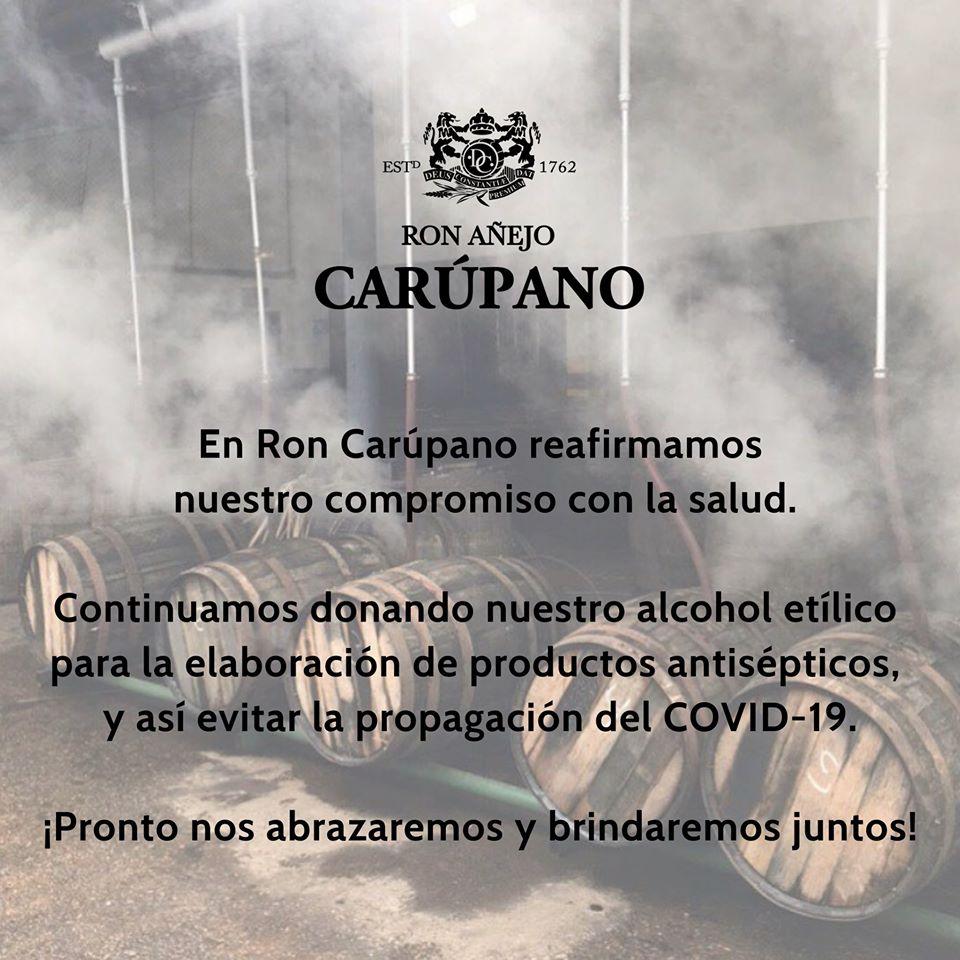 Ron Carúpano sigue sumando contra la propagación del COVID-19