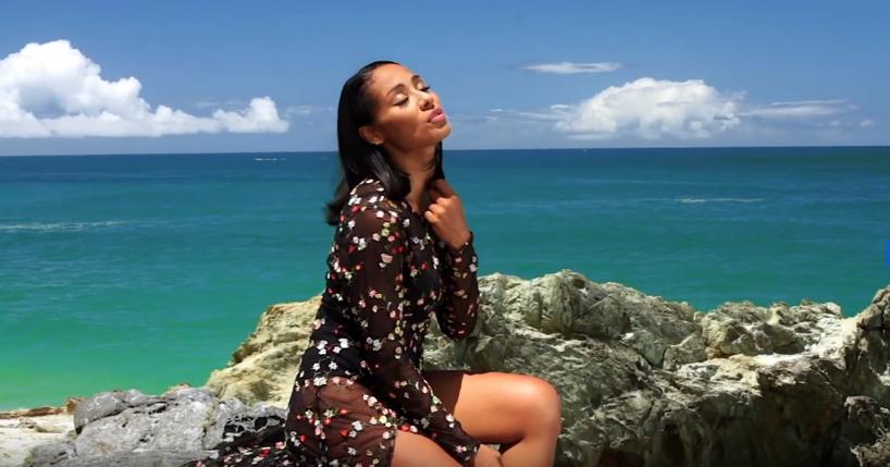 Alicia Banquez estrena videoclip de «El perdón», realizado en Margarita