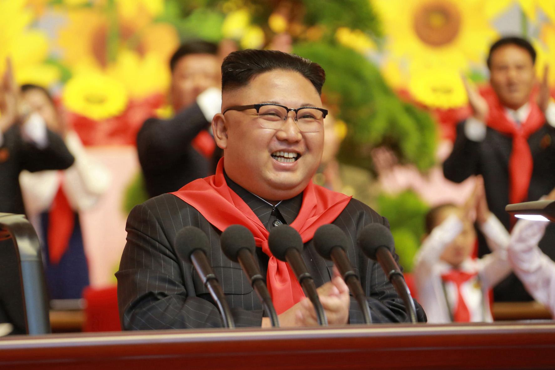 Los niños felices de la República Popular Democrática de Corea