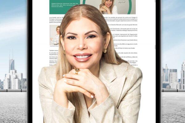LUCY AMADO CON RENOVADA PAGINA WEB
