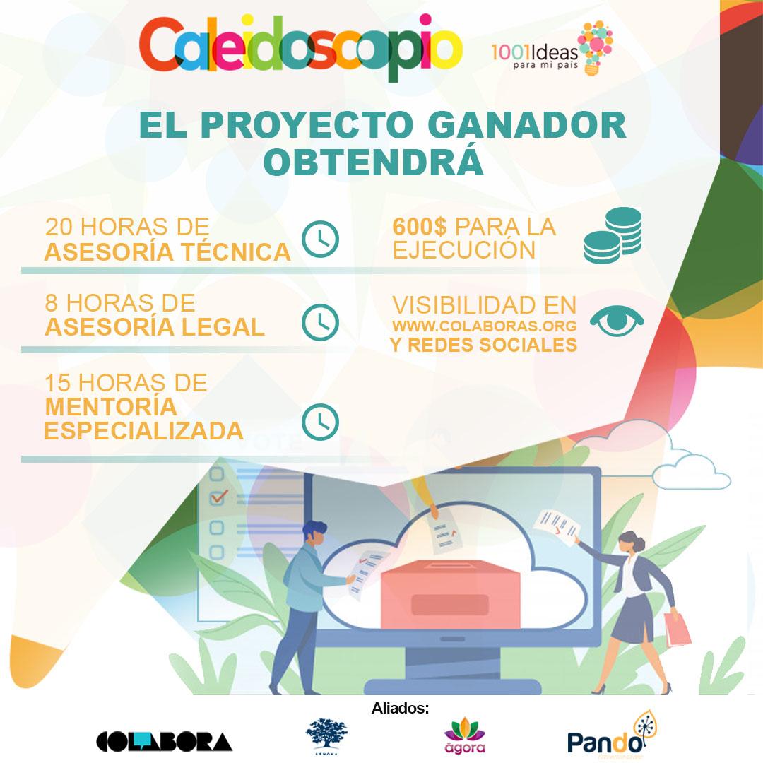 Caleidoscopio, la nueva iniciativa de innovación social  que estabas esperando
