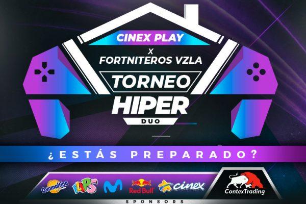 Cinex inaugura su plataforma de e-games CinexPlay con su primer  Torneo de Fortnite