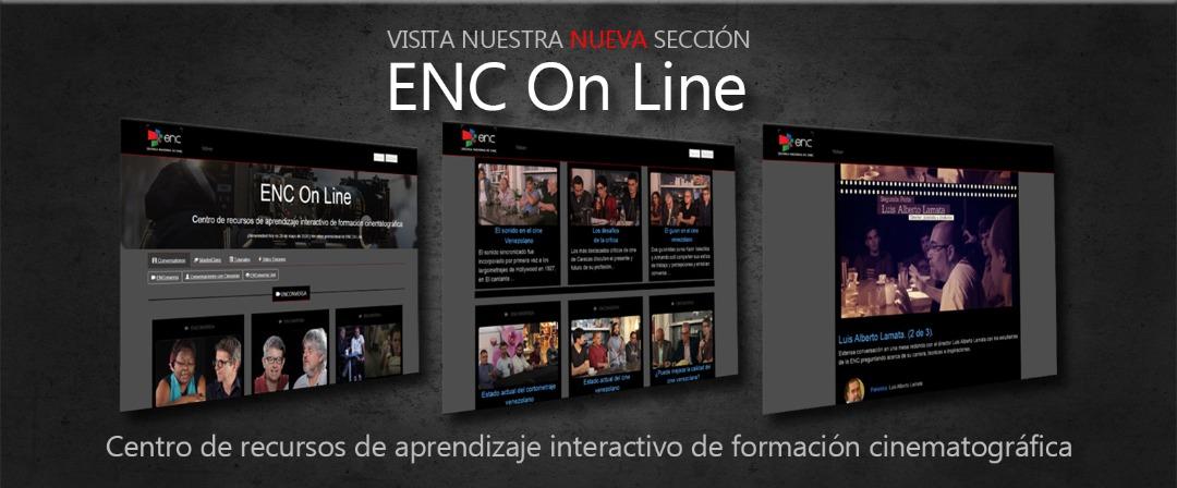 La Escuela Nacional de Cine inaugura ENC On Line