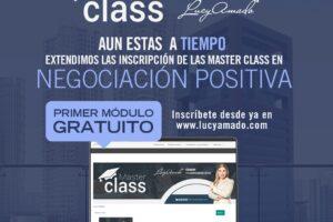 ¡LUCY AMADO ESTRENA MASTER CLASS CON ROTUNDO ÉXITO!