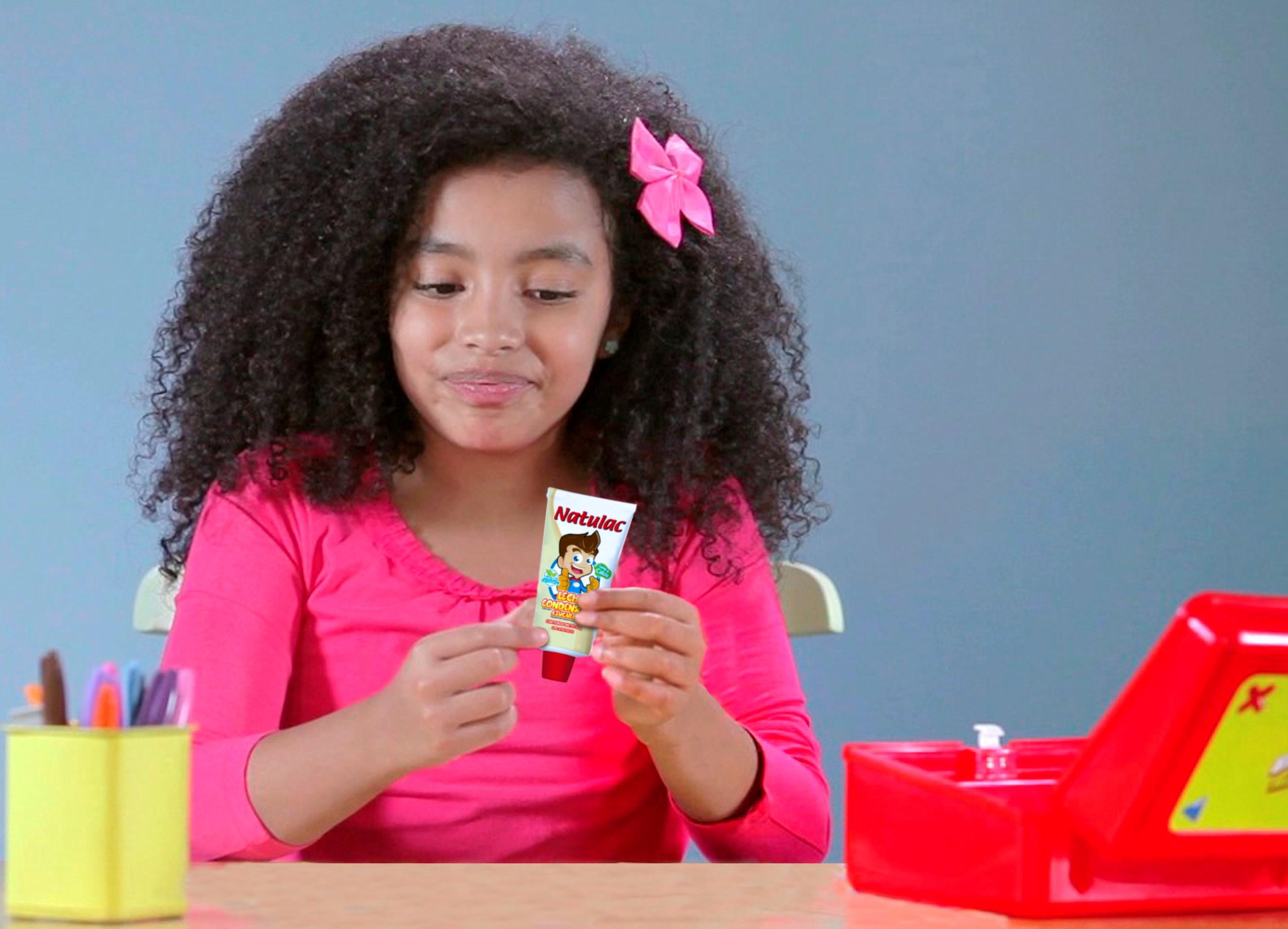 La leche condensada: la merienda nutritiva para los niños