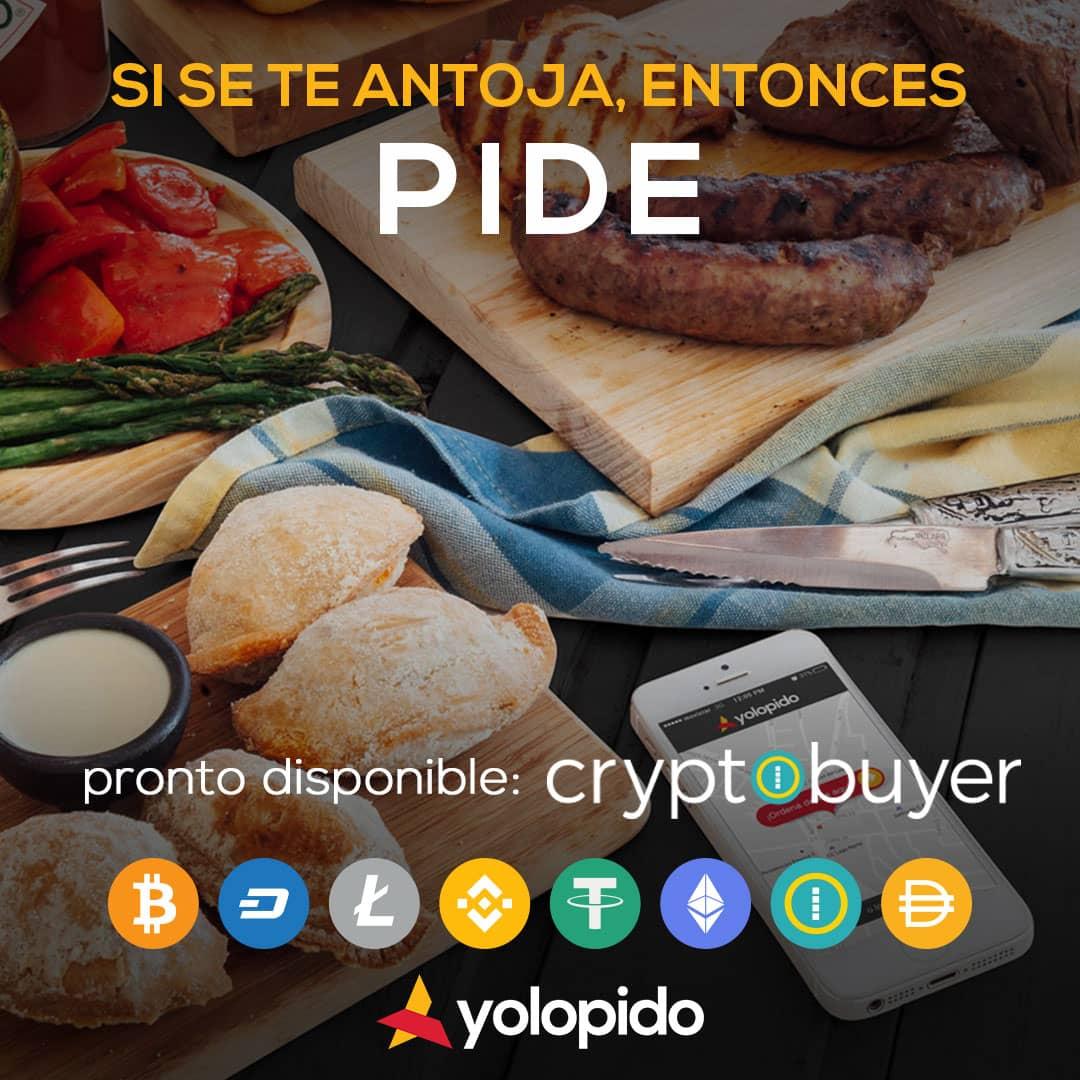 PRONTO EN YOLOPIDO.COM, SE PODRÁ PAGAR EN CRYPTOMONEDAS