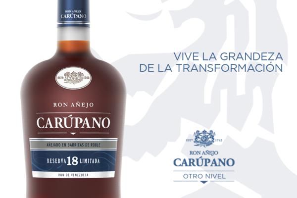 El primer lanzamiento 100% digital en Venezuela; Ron Carúpano 18   Reserva Limitada un nuevo integrante de Otro Nivel