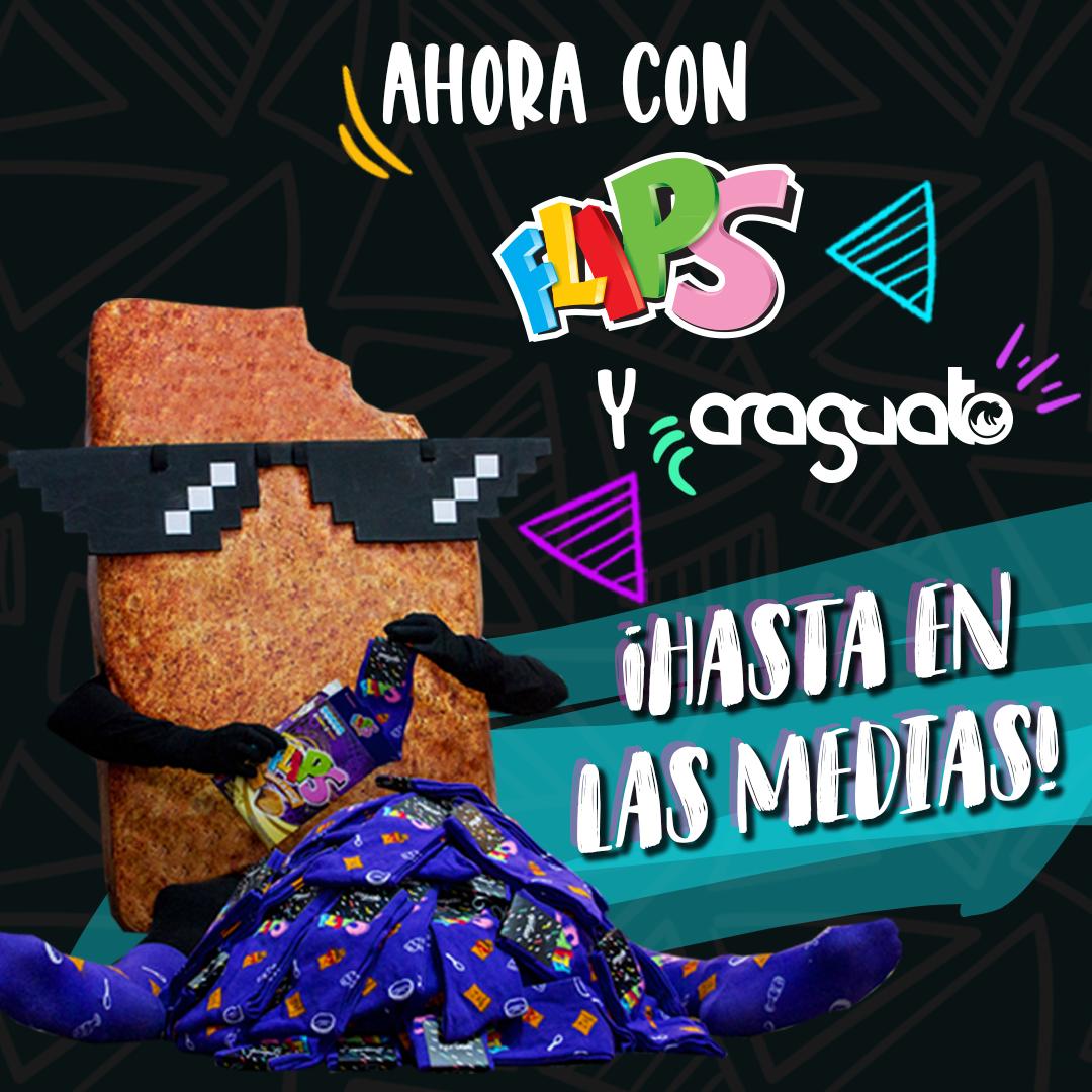 FLIPS y Araguato van a medias, en una alianza muy original