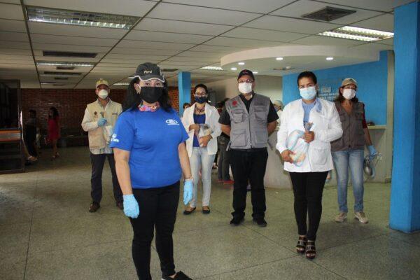 Ford Motor de Venezuela donó 420 kits de protección  al personal de salud de 3 hospitales en Carabobo