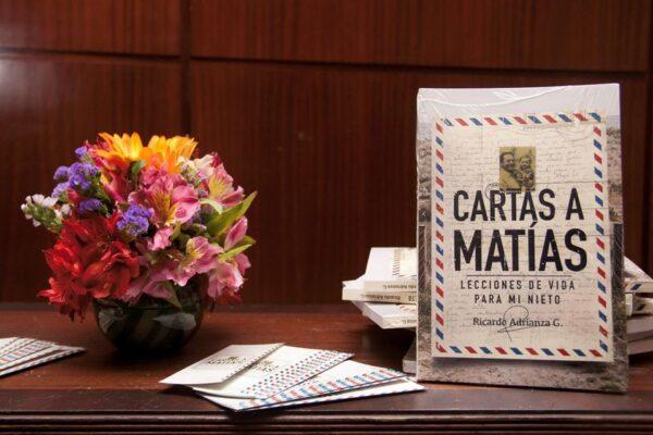 """""""Cartas a Matías, lecciones de vida para mi nieto"""", un buen regalo para papá en su día"""