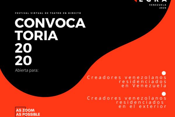 CajaNegra: Festival virtual de teatro en directo. Venezuela 2020
