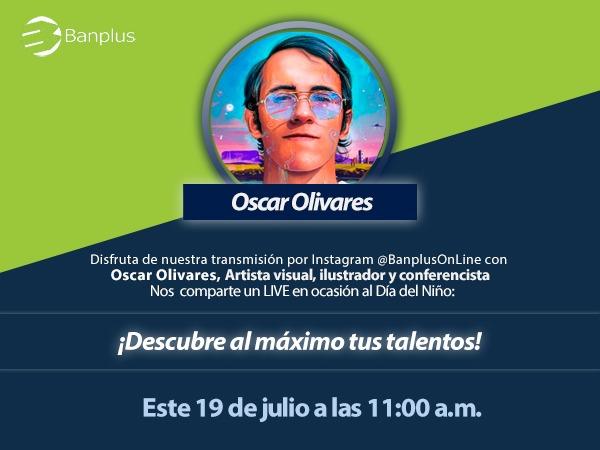 Descubre al máximo tus talentos junto al ilustrador Oscar Olivares