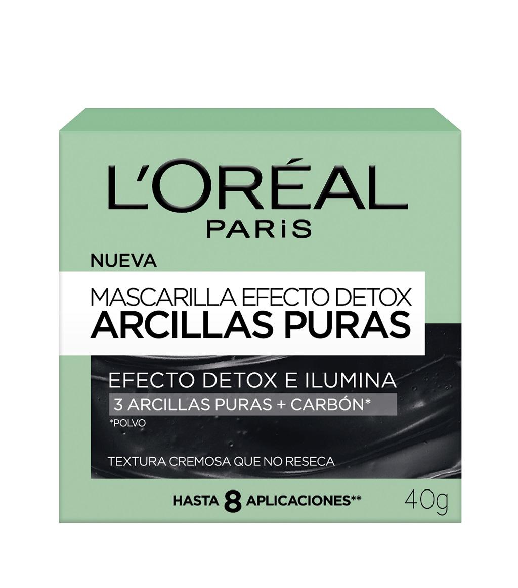 Mascarillas Pure Clays de L'Oréal Paris, una línea ideal para eliminar las impurezas del rostro
