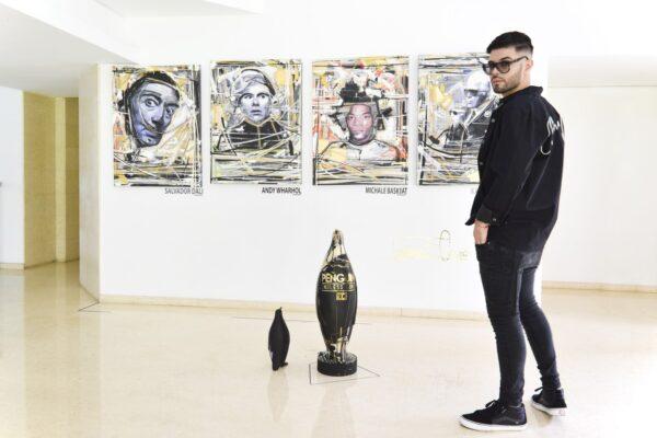 El arte de Gerardo Campos que nos inspira el alma. Abre nueva Galería de Arte