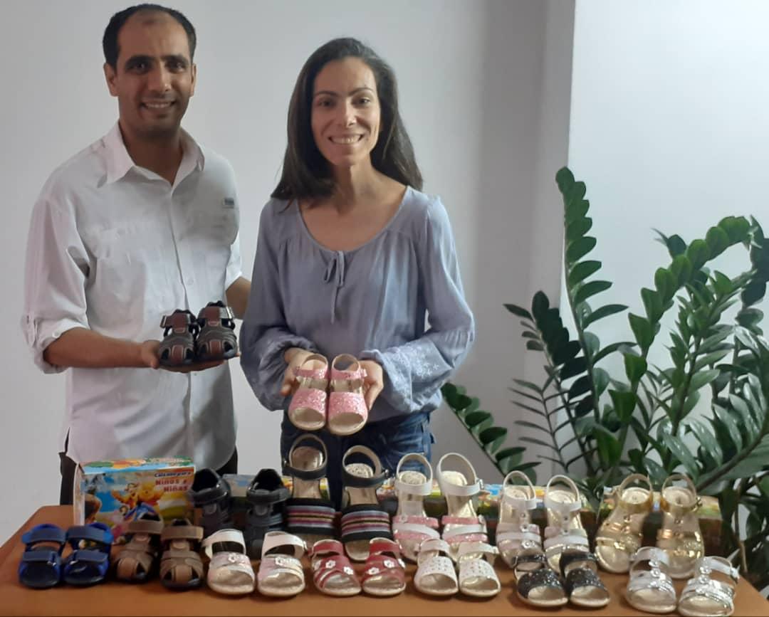 Los hermanos Cristina y Valter Traini Sandoval le ponen corazón a «Creaciones Kristyn Moda