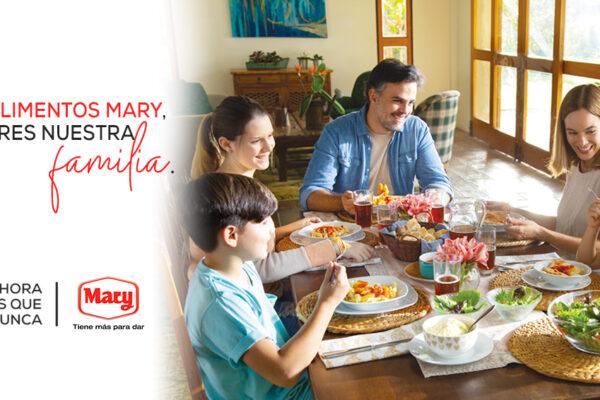 A partir del 10 de julio Alimentos Mary lanza nueva campaña publicitaria