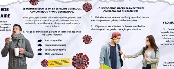 CADA ANUNCIO DE LA OMS NOS DA MÁS RAZONES  PARA SANITIZAR NUESTROS ESPACIOS