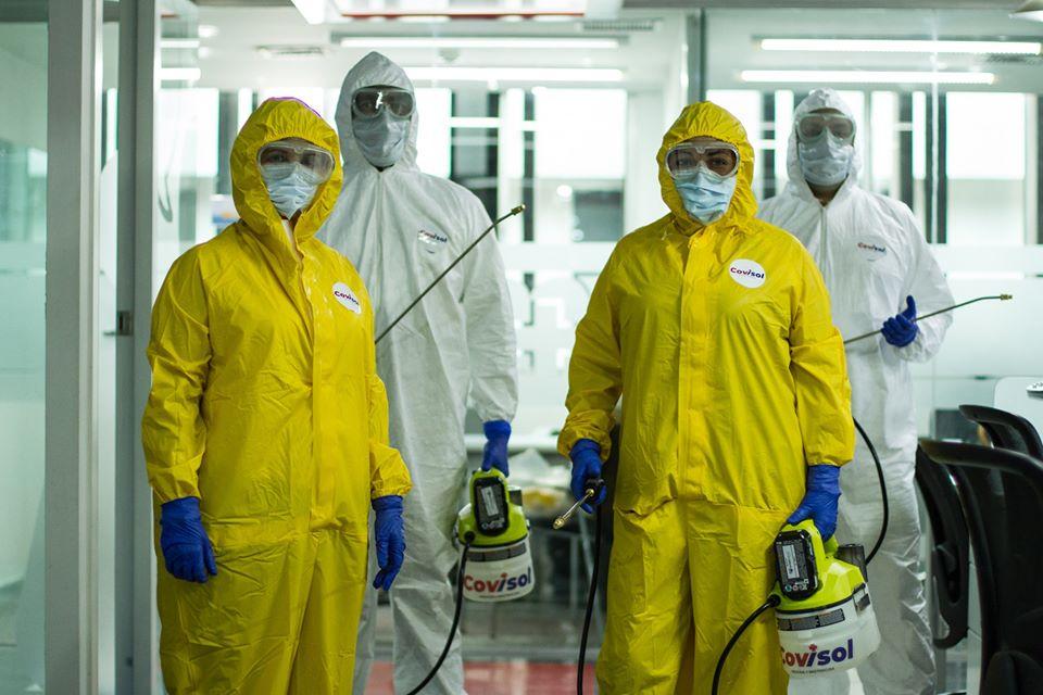 Profesionales de la salud avalan desinfecciones contra el Covid-19