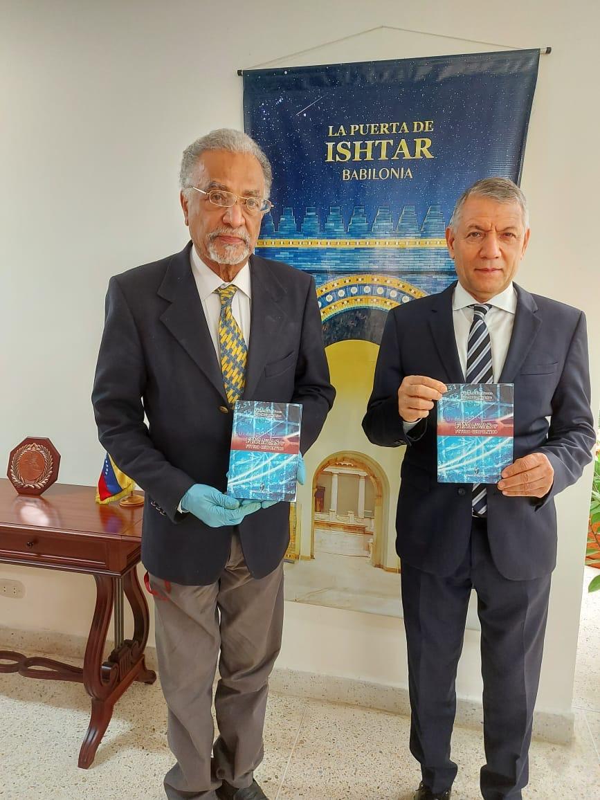 »Finanzas y Futuro Geopolítico» es el nuevo libro de los economistas Kasim Asker Hasan y Luis Mata Mollejas
