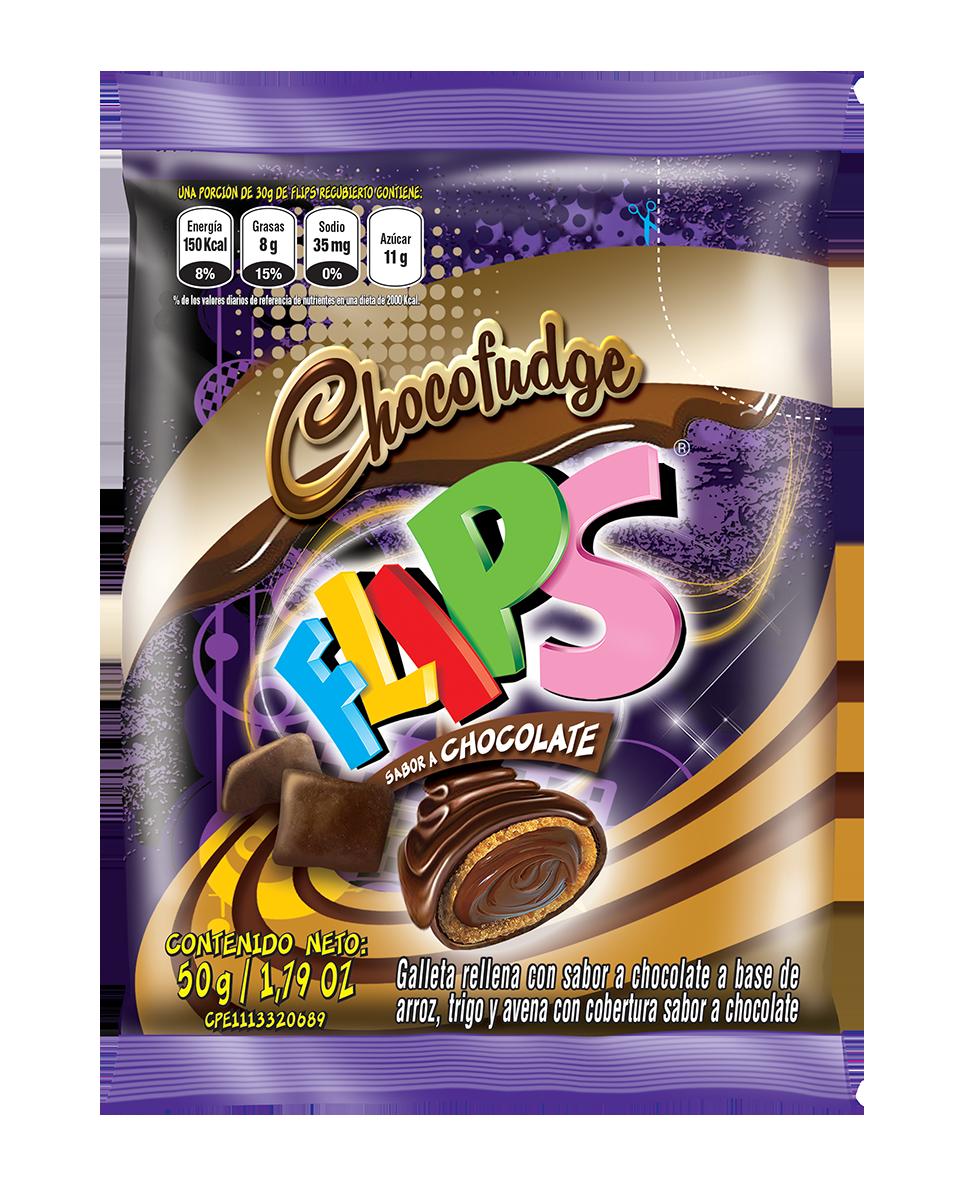 FLIPS PRESENTA CHOCOFUDGE, SU NUEVO SABOR CUBIERTO DE CHOCOLATE