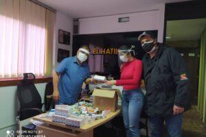Alianza ciudadana Entrega donativos
