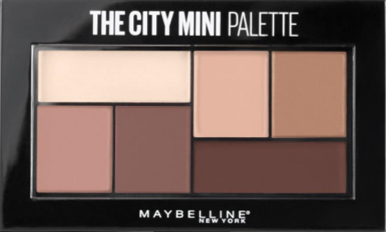 Luce un maquillaje radiante y de impacto con The City Mini Palette de Maybelline New York