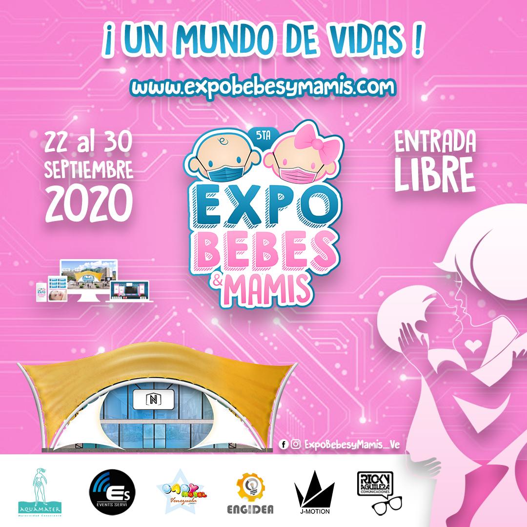 ¡Vive una Experiencia Virtual! En la 5ta. Edición de Expo Bebés y Mamis