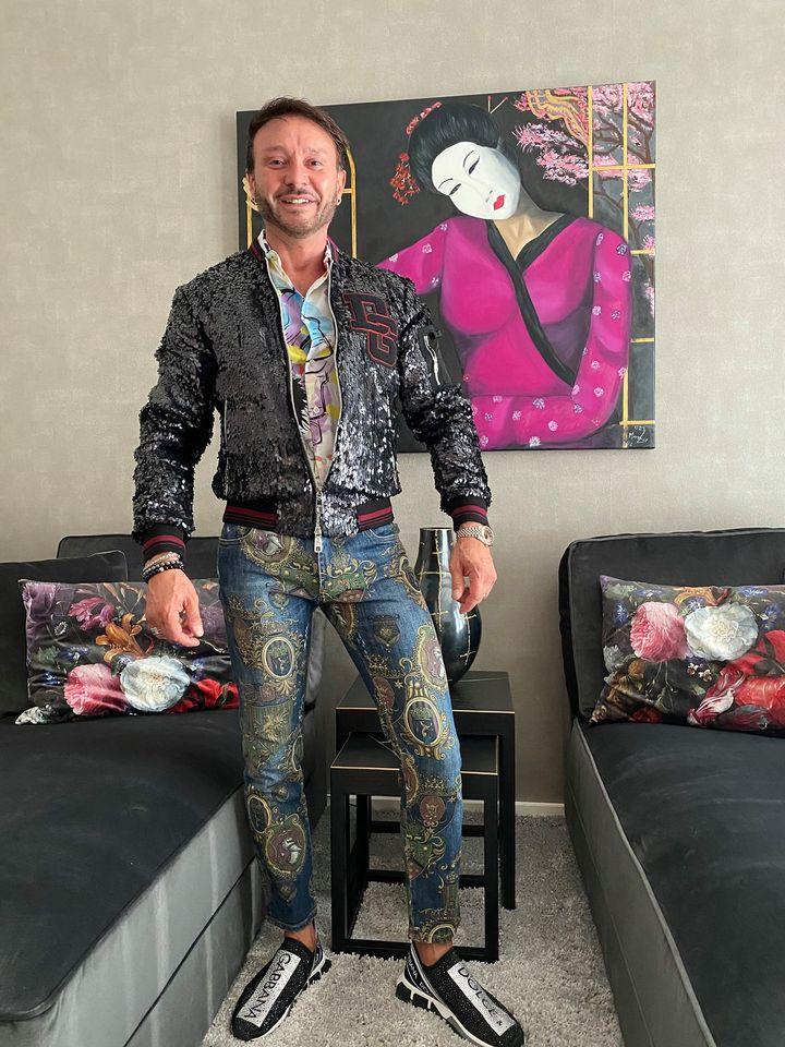 Marco Lux es la cara del arte en Hamburgo
