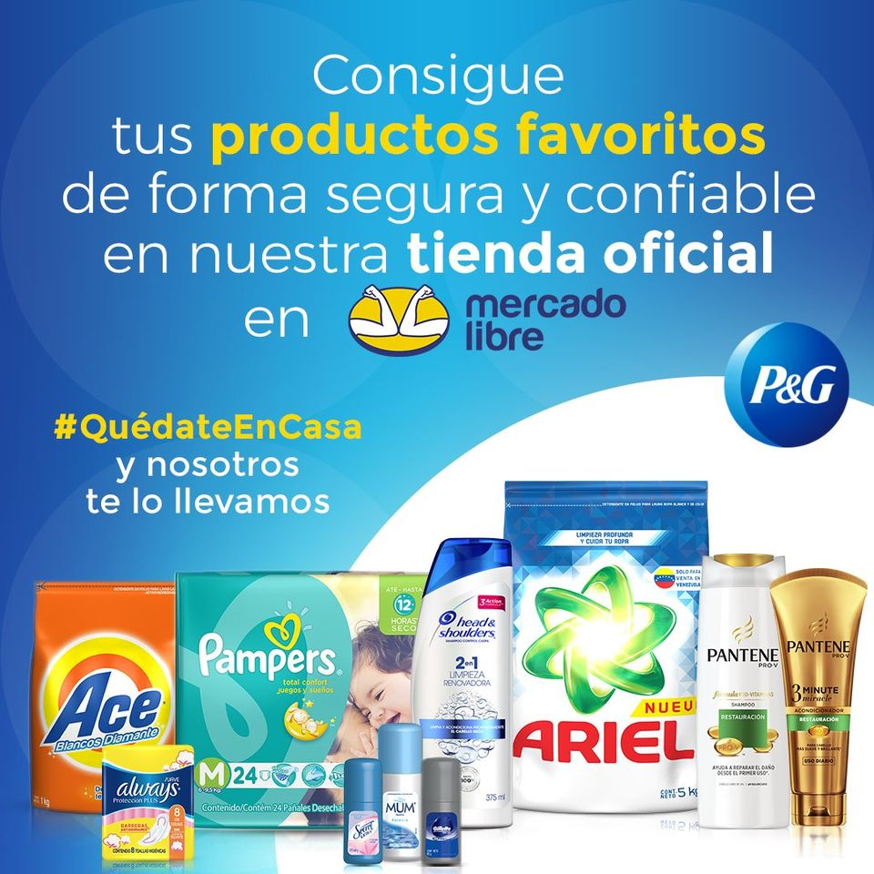 Procter and Gamble debuta en Mercado Libre