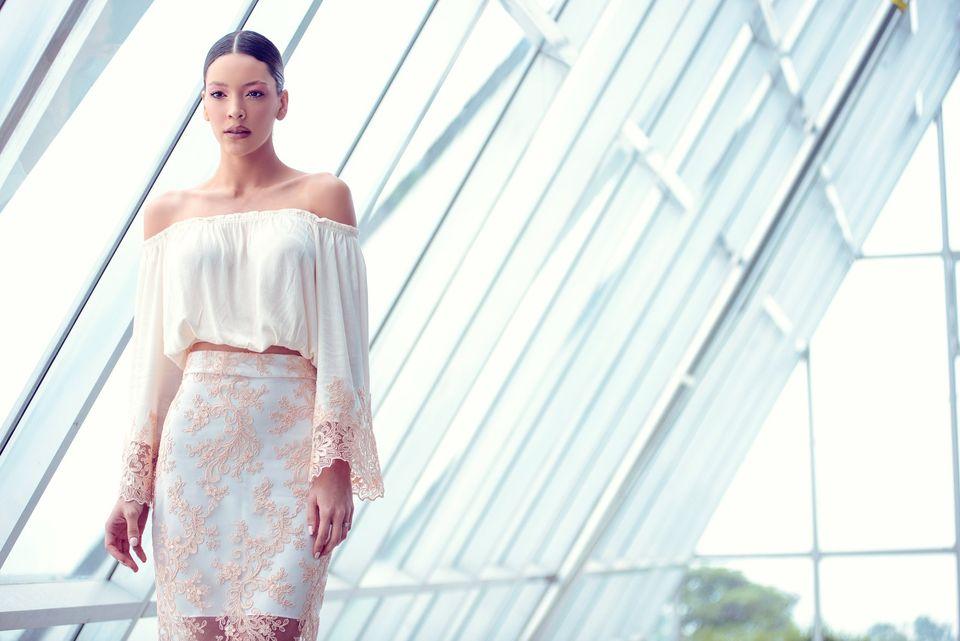 Diseñadora Dayana León develó 'Attraction' en la Semana de la Moda de Nueva York