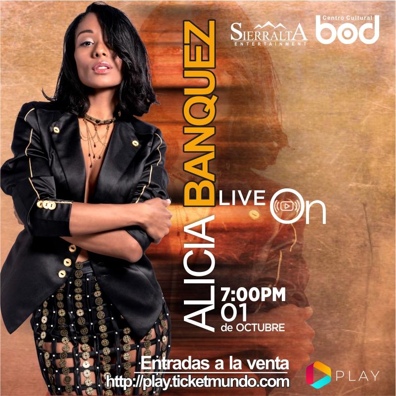 Alicia Banquez ofrecerá concierto online desde el Centro Cultural BOD