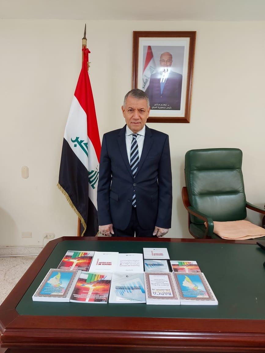 Embajador Kasim Asker Hasan recibe reconocimiento de Academia de Ciencias de Iraq