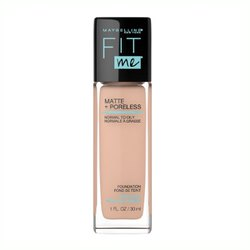 Luce un rostro impecable con Fit Me Matte and Poreless de Maybelline New York