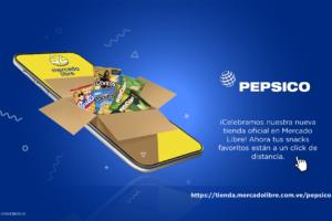PepsiCo Venezuela avanza en el terreno del e-commerce y lanza su Tienda Oficial en Mercado Libre
