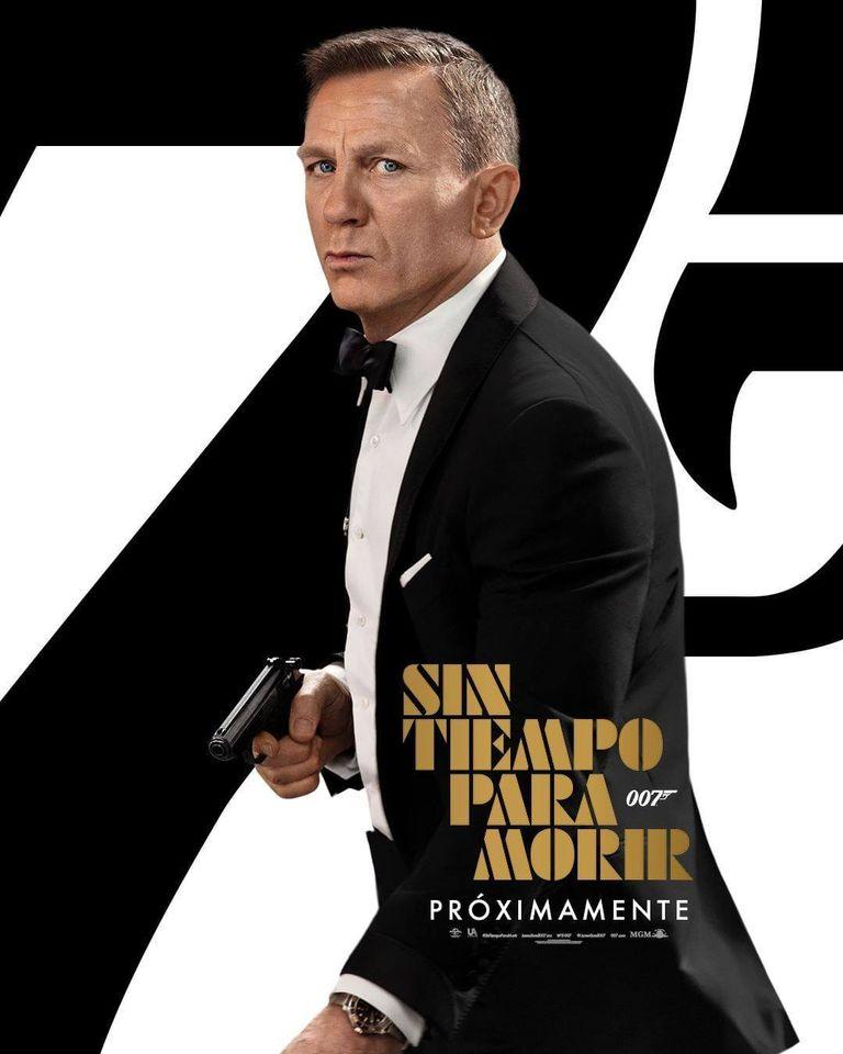 Universal Pictures presenta el NUEVO afiche de SIN TIEMPO PARA MORIR