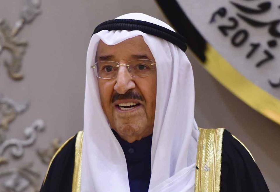 Estados Unidos condecora al Emir de Kuwait con la medalla de la Legión de Honor