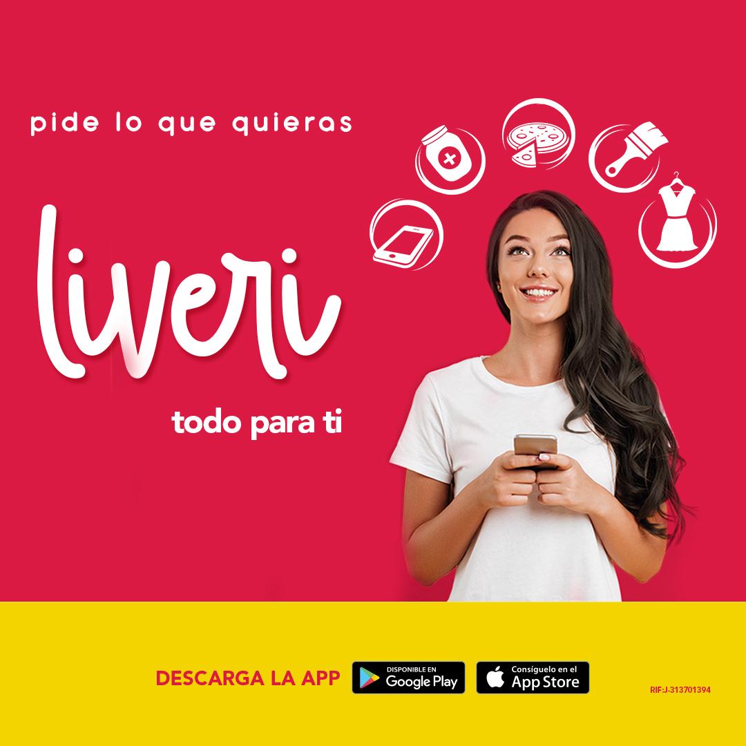 ¿Cómo comprar todo lo que necesitas en un clic?Liveri: TODO lo que quieres para ser más feliz desde tu celular