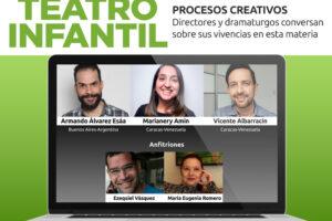 Directores y dramaturgos compartirán su experiencia en teatro infantil vía Zoom