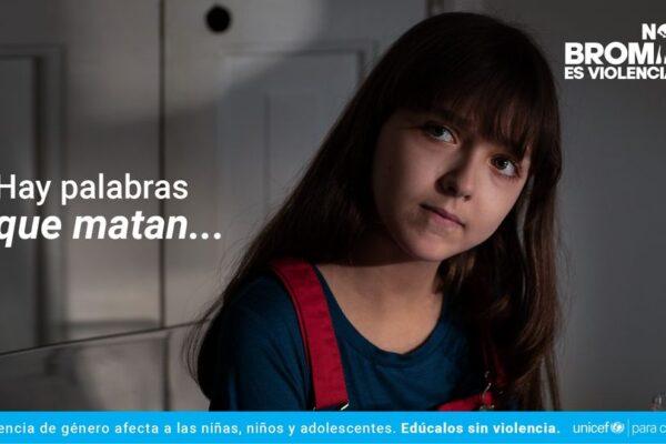 UNICEF Venezuela inicia campaña para contribuir a la prevención de la violencia contra niñas y mujeres