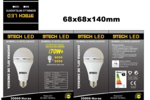 Bombillo inteligente BTECH LED :Tecnología eficiente para cada rincón de la casa