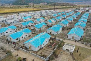 Máximo Dirigente Kim Jong Un recorre campos de reconstrucción de provincia de Hamgyong de Sur