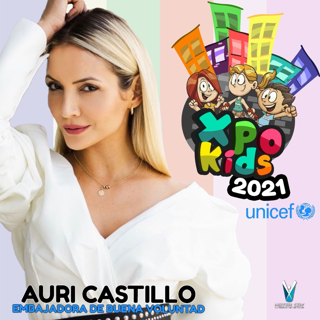 """""""Expo Kids"""" le da la bienvenida a su nueva embajadora Auri Castillo"""