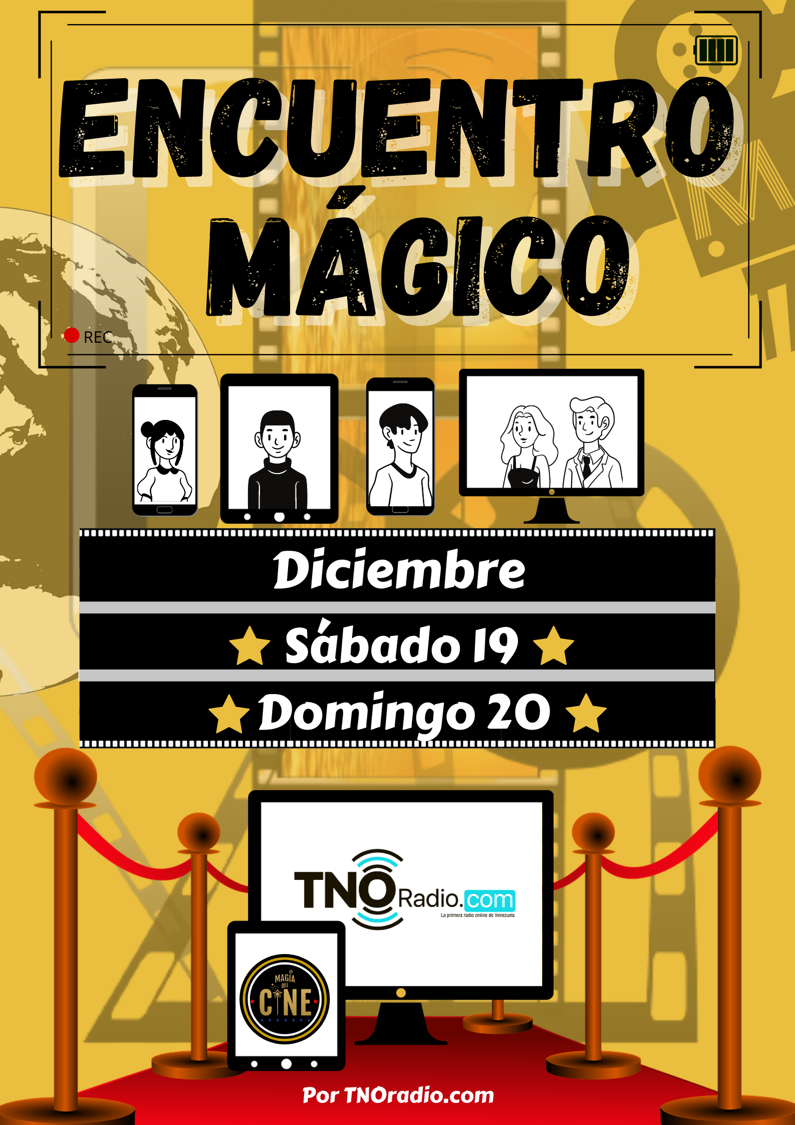 """""""Encuentro Mágico""""  CONVENCIÓN ONLINE AUDIOVISUAL"""