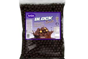 Krön trae para ti sus Block Balls Granel, bolitas de cereal crocantes cubiertas con el rico sabor del chocolate Ideales para todo tipo de creaciones y consentir a los paladares más exigentes