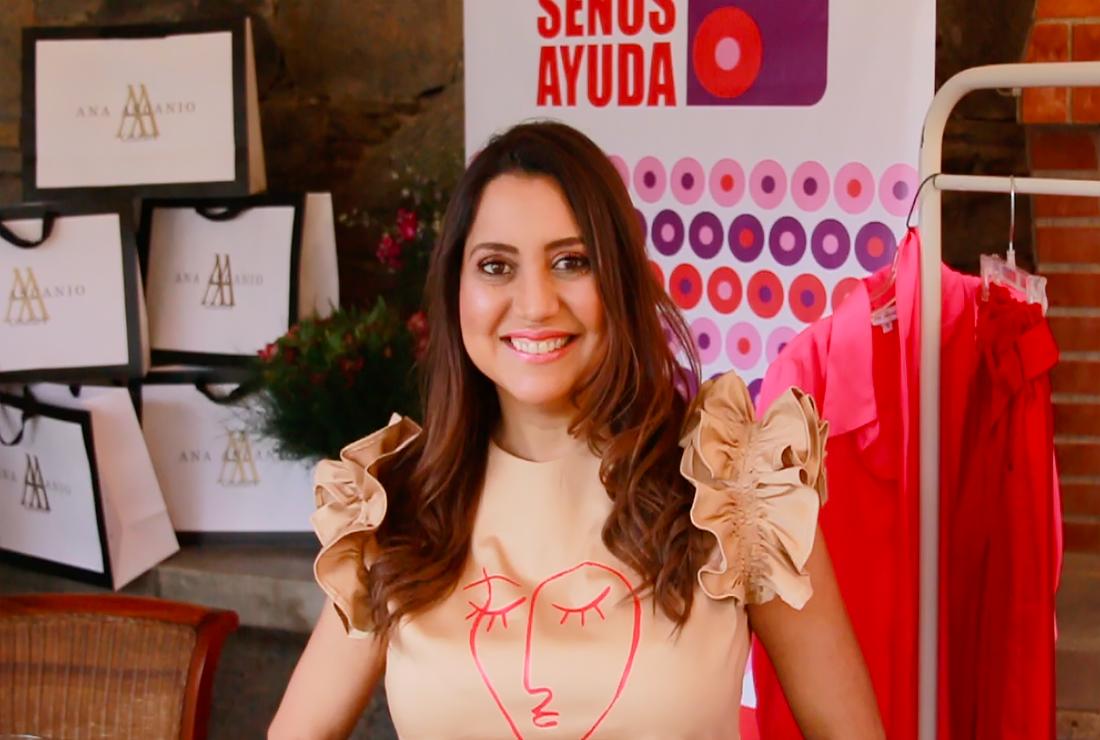 Únete a la venta rosa! Perfect Is Overrated, es la franela oficial de Ana Ascanio Couture para colaborar con SenosAyuda