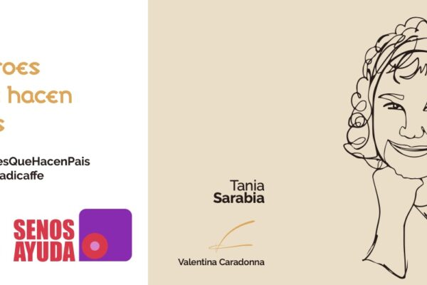 Durante el mes de la sensibilización sobre el cáncer de mama  Senos Ayuda con Aroma Di Caffè