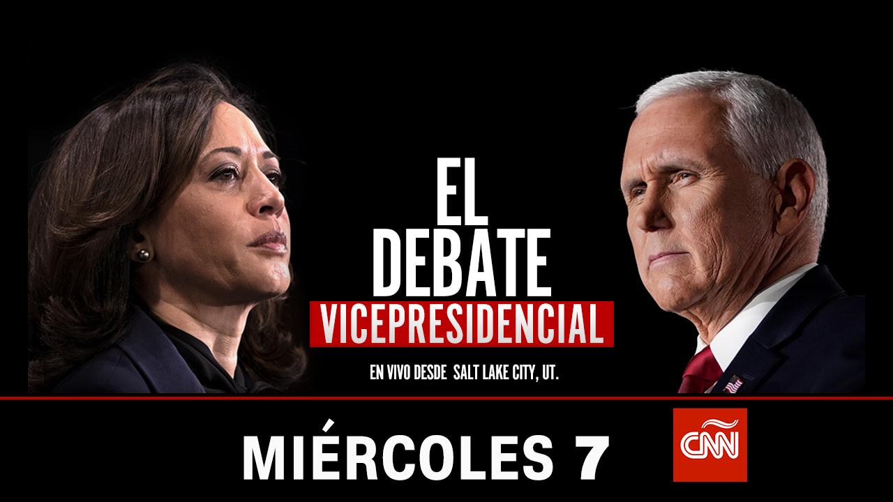 7 de octubre CNN en Español transmitirá en vivo debate vicepresidencial de Estados Unidos